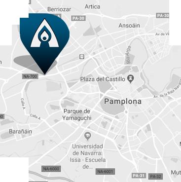 Elkarte Fundación - Mapa de SItuación